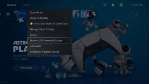 PlayStation 5 April 21 update - external storage support and new features