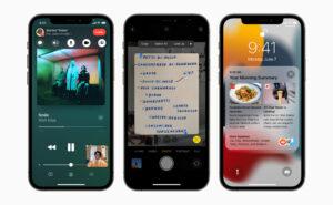 iOS 15 SharePlay Live Text Focus Notifications 3D Map FaceTime