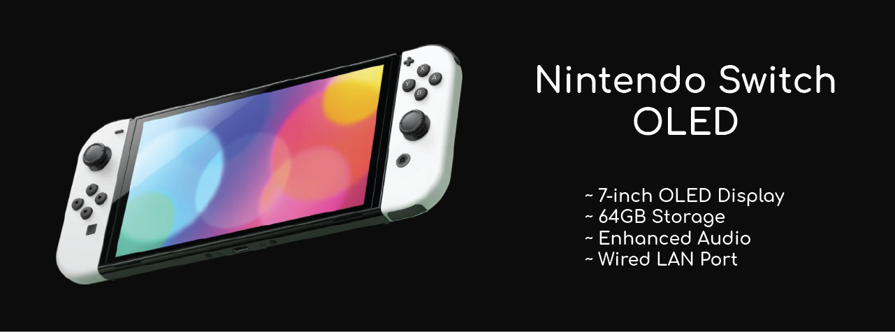 Nintendo Switch OLED Features Specs Price and Release Date