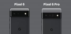 Google Pixel 6 vs Pixel 6 Pro Specs Features Price and Release Date