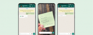 How to send view once WhatsApp disappearing messages